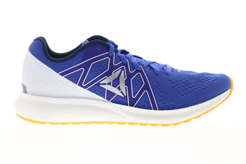 Reebok Forever Floatride Energy Mens Blue Canvas Athletic Running Shoes