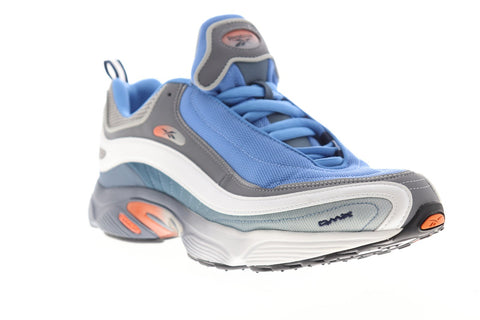 Reebok Daytona DMX MU CN7827 Mens Blue Leather Lace Up Low Top Sneakers Shoes