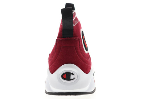 Champion Rally Pro CP100012M Mens Red Canvas High Top Lifestyle Sneakers Shoes