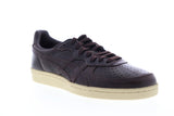 Onitsuka Tiger Gsm D7H1L-2929 Mens Brown Leather Low Top Sneakers Shoes
