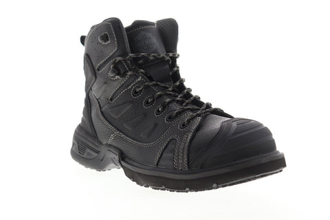 Harley-Davidson Foxfield Steel Toe D93333 Mens Black Motorcycle Boots Shoes