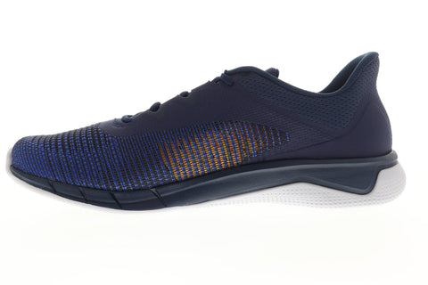 Reebok Fast Tempo Flexweave DV4141 Mens Blue Nylon Athletic Running Shoes