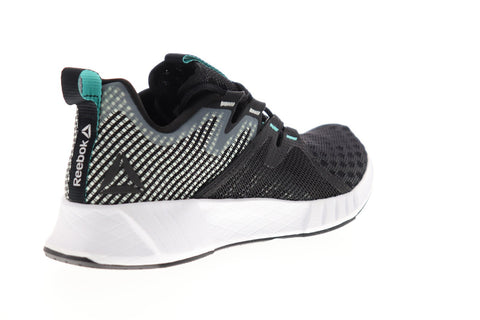 Reebok Fusium Run 2.0 DV4224 Womens Black Mesh Lace Up Athletic Running Shoes
