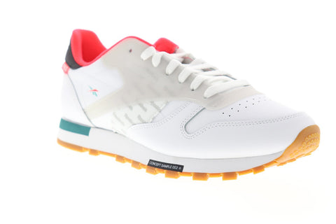 Reebok Classic Leather Altered DV5239 Mens White Low Top Sneakers Shoes