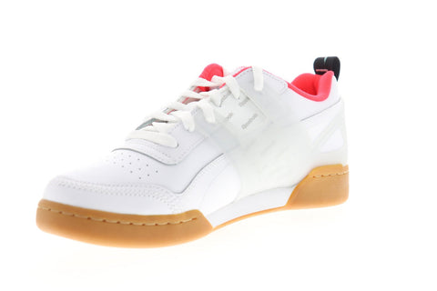 Reebok Workout Plus Altered DV5243 Mens White Low Top Sneakers Shoes