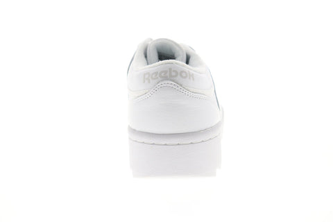 Reebok Workout Ripple OG DV5326 Mens White Leather Low Top Sneakers Shoes