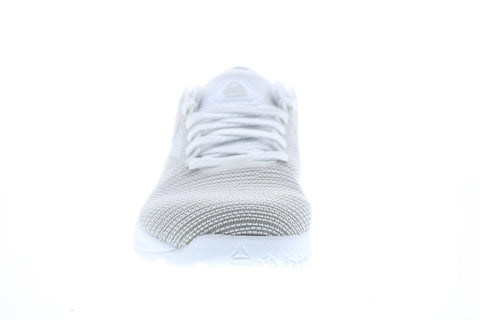 Reebok Nano 9 DV6363 Womens White Mesh Athletic Cross Training Shoes