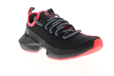 Reebok Sole Fury SE DV6921 Womens Black Mesh Lace Up Athletic Running Shoes