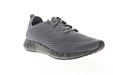 Reebok Flashfilm DV6971 Mens Gray Mesh Athletic Lace Up Running Shoes