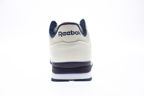Reebok Classic Leather MU DV8626 Mens Beige Leather Low Top Sneakers Shoes