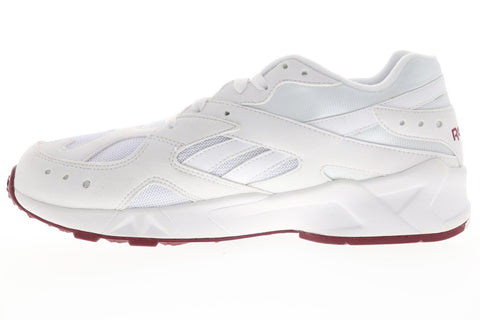 Reebok Aztrek 93 DV8667 Mens White Mesh Lace Up Low Top Sneaker Shoes
