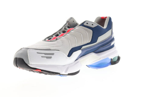 Reebok DMX6 MMI DV9076 Mens Gray Mesh Athletic Slip On Cross Training Shoes