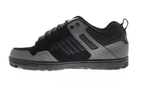 DVS Enduro 125 Mens Black Synthetic Athletic Lace Up Skate Shoes
