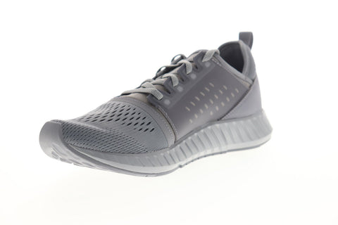 Reebok Flashfilm DV9700 Mens Gray Mesh Lace Up Athletic Running Shoes