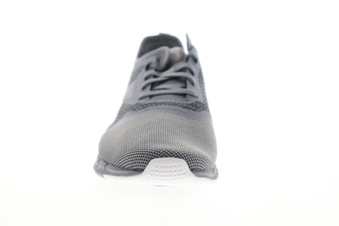 Reebok Print Run 3.0 EF8823 Mens Gray Nylon Athletic Lace Up Running Shoes