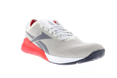 Reebok Nano 9 EG3307 Mens Gray Nylon Athletic Lace Up Cross Training Shoes