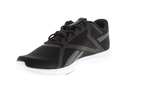Reebok Flexagon Force 2.0 EG8758 Mens Black Canvas Athletic Cross Training Shoes