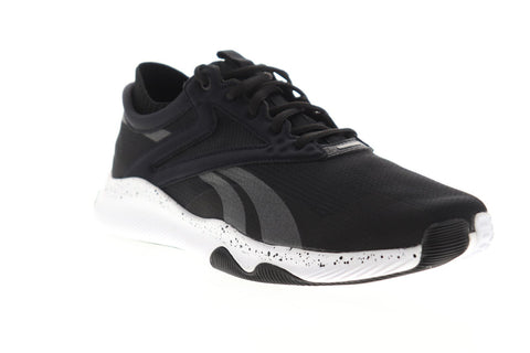 Reebok Hiit TR EH3076 Mens Black Canvas Lace Up Athletic Cross Training Shoes