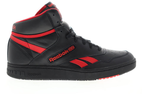 Reebok Bb 4600 EH3332 Mens Black Leather Lace Up Athletic Basketball Shoes