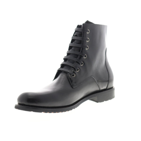English Laundry Athol EK526S95 Mens Black Leather Casual Dress Boots Shoes