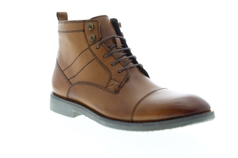 English Laundry Ensor EK543S65 Mens Brown Leather Casual Dress Boots Shoes