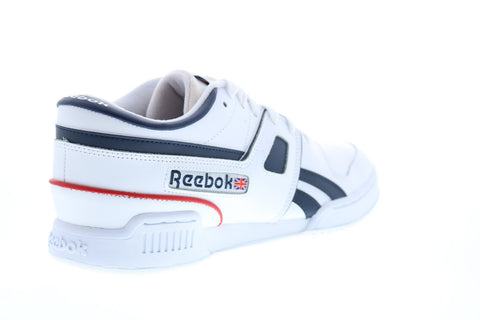 Reebok Pro Workout LO MU FW3385 Mens White Leather Lifestyle Sneakers Shoes