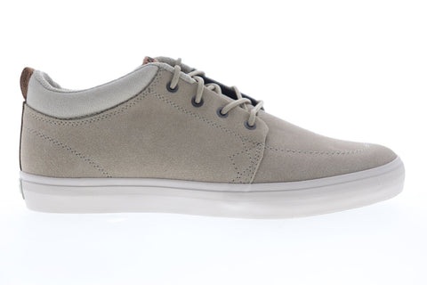 Globe GS Chukka GBGSCHUKKA Mens Gray Suede Lace Up Athletic Skate Shoes