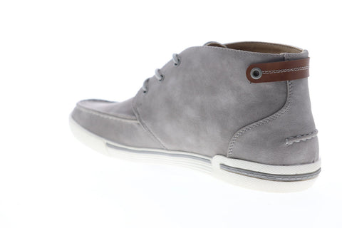 Unlisted by Kenneth Cole Drop UR Anchor Mens Gray Nubuck Chukkas Boots Shoes
