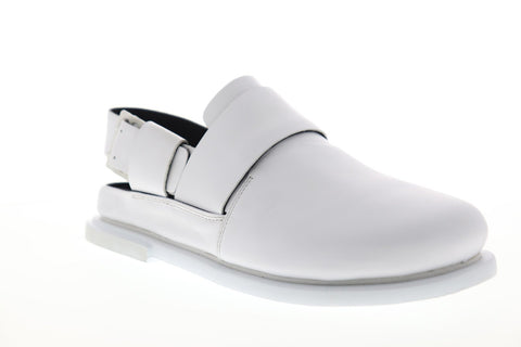 Camper Edo K100339-006 Mens White Leather Strap Sport Sandals Shoes