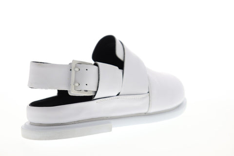 Camper Edo K100339-006 Mens White Leather Adjustable Strap Sport Sandals Shoes