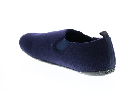 Camper Wabi K100355-006 Mens Blue Canvas Slip On Slippers Mules Shoes