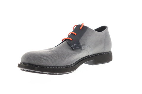 Camper Neuman K100359-006 Mens Gray Canvas Lace Up Plain Toe Oxfords Shoes