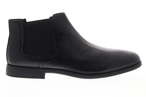 Camper Truman K300188-001 Mens Black Leather Slip On Chelsea Boots Shoes