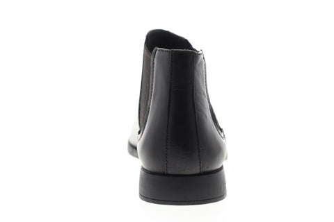 Camper Truman K300188-001 Mens Black Leather Mid Top Slip On Chelsea Boots