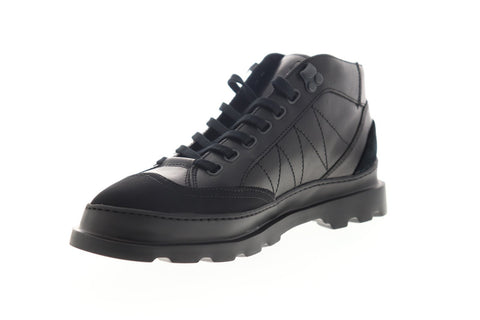 Camper Brutus K300220-005 Mens Black Leather Lace Up Ankle Boots Shoes
