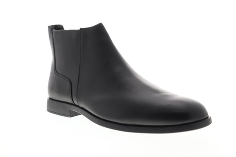 Camper Truman K300241-001 Mens Black Leather Zipper Chelsea Boots Shoes
