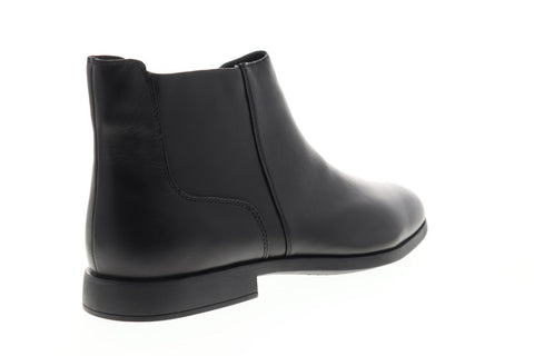 Camper Truman K300241-001 Mens Black Leather Zipper Chelsea Boots
