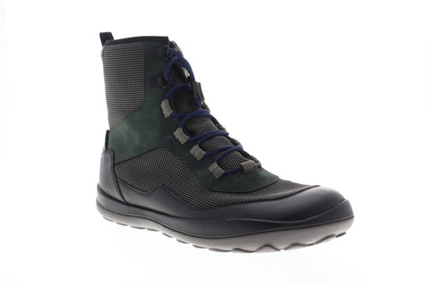 Camper Peu Pista K300255-001 Mens Black Canvas Zipper Casual Dress Boots Shoes