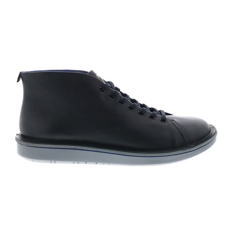 Camper Formiga K300279-001 Mens Black Leather Lace Up Euro Sneakers Shoes