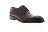Carrucci Calf Blucher KS711-01 Mens Brown Leather Dress Oxfords Shoes