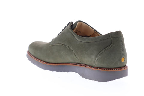 Samuel Hubbard Bucks M2160-056M Mens Green Suede Casual Lace Up Oxfords Shoes