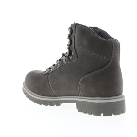 Lugz Pine Ridge WR MPINERK-025 Mens Gray Nubuck Lace Up Casual Dress Boots Shoes