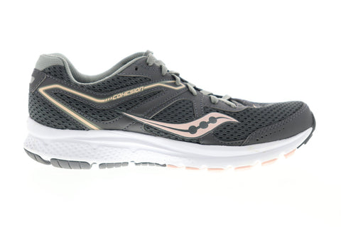 Saucony Grid Cohesion 11 S10420-7 Womens Gray Mesh Athletic Running Shoes