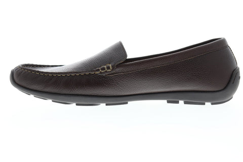 Tommy Bahama Orion TB7S00045 Mens Brown Leather Casual Slip On Loafers Shoes