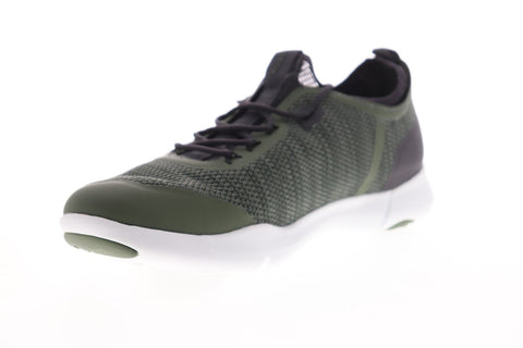 Geox U Nebula X U826BA0006KC3016 Mens Green Mesh Lace Up Low Top Sneakers Shoes