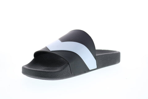 Diesel A-Lohaa Sa-Maral Y01328-P1402-H5987 Mens Black Slides Sandals Shoes
