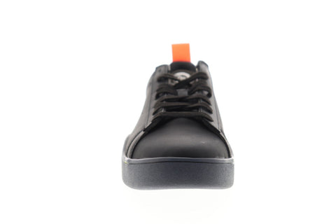 Diesel S-Clever Low Y01748-P2282-H7090 Mens Black Leather Low Top Sneakers Shoes
