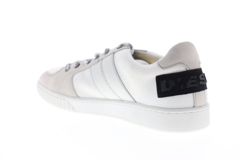 Diesel S-Millenium LC Y01841-PR633-T1015 Mens White Low Top Sneakers Shoes