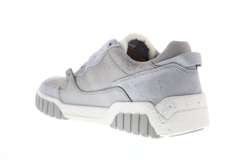 Diesel S-Le Rua On Mens Gray Nubuck Lace Up Lifestyle Sneakers Shoes