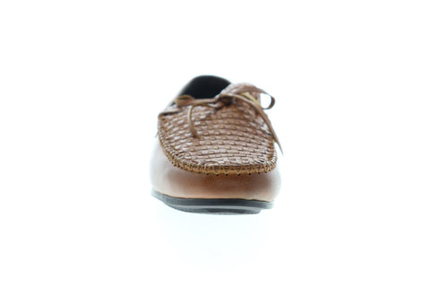 Zanzara Cezanne ZH102C51 Mens Brown Leather Casual Slip On Loafers Shoes